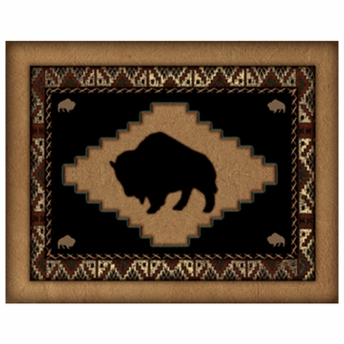 Art 4 Kids Western Buffalo Wall Art