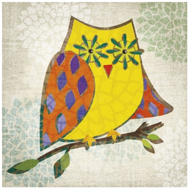 Art 4 Kids Who's Hoo II Wall Art
