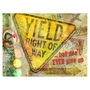 Art 4 Kids Yield Right of Way Wall Art