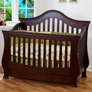 Ashbury Convertible Crib in Espresso