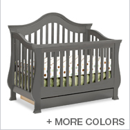 Ashbury Crib Collection by Million Dollar Baby Classic