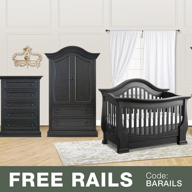 Baby Appleseed Davenport 3 Piece Nursery Set   3 In 1 Convertible Crib,