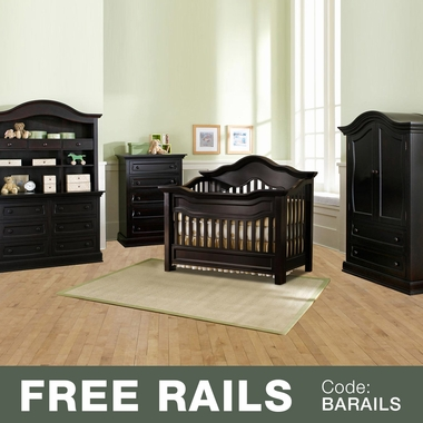 Baby Appleseed 5 Piece Nursery Set   Millbury 3 In 1 Convertible Crib,