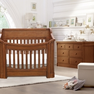 Baby Appleseed Carlisle Convertible Crib Sets in Coco