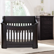 Baby Appleseed Carlisle Convertible Crib Sets in Espresso