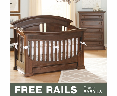 Superb Baby Appleseed Chelmsford 2 Piece Nursery Set   Convertible Crib And 5  Drawer Chest In Coco