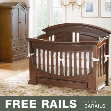 Baby Appleseed Chelmsford 2 Piece Nursery Set   Convertible Crib And Armoire  In Coco   Click
