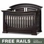 Baby Appleseed Chelmsford 3-in-1 Convertible Crib in Espresso
