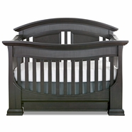 Baby Appleseed Chelmsford 3-in-1 Convertible Crib in Slate