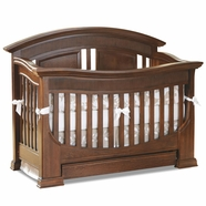 Baby Appleseed Chelmsford Convertible Crib in Coco