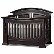 Baby Appleseed Chelmsford Convertible Crib in Espresso