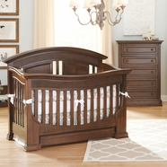 Baby Appleseed Chelmsford Convertible Crib Sets in Coco