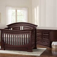 Baby Appleseed Chelmsford Convertible Crib Sets in Merlot