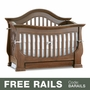 Baby Appleseed Davenport 3-in-1 Convertible Crib in Coco