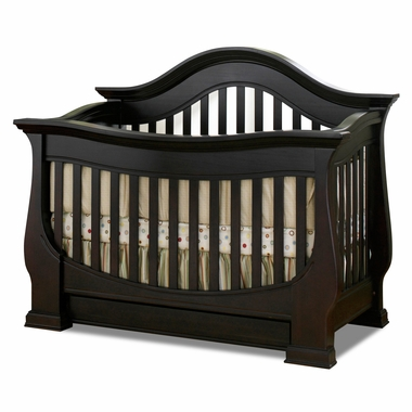 Baby Appleseed Davenport 3 In 1 Convertible Crib In