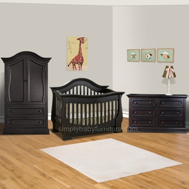 Baby Appleseed Davenport 3 Piece Nursery Set Convertible