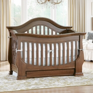 Baby Appleseed Davenport Crib in Coco