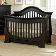 Baby Appleseed Davenport Convertible Crib Sets in Espresso