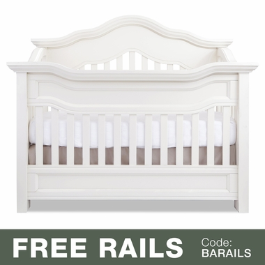 Baby Appleseed Millbury 3-in-1 Convertible Crib in Pure White - Click to enlarge