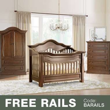 Baby Appleseed Millbury 3 Piece Nursery Set   Convertible Crib, Armoire And  5 Drawer Chest