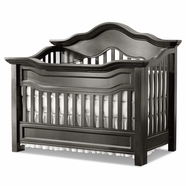 Baby Appleseed Millbury Convertible Crib in Slate