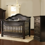 Baby Appleseed Millbury Convertible Crib Sets in Espresso