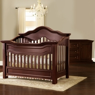 Baby Appleseed Millbury Convertible Crib Sets in Merlot