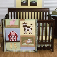 Baby Barnyard Crib Bedding Collection by Trend Lab