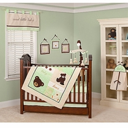 Baby Bear Bedding Collection by Pam Grace Creations