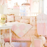 Baby Ella Crib Bedding Collection by Glenna Jean