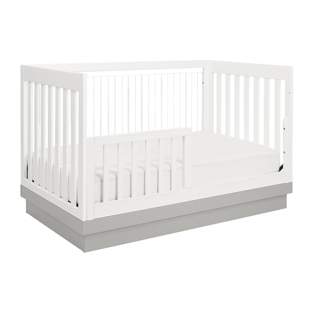 babyletto  piece nursery set  acrylic harlow in convertible  - babyletto  piece nursery set  acrylic harlow in convertible crib andmodo  drawer dresser in white free shipping