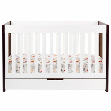 Babyletto Mercer 3-in-1 Two-Tone Baby Crib - Click to enlarge