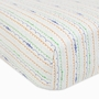Babyletto Alphabets Fitted Mini Crib Sheet