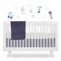 Babyletto Galaxy 4 Piece Crib Bedding Set