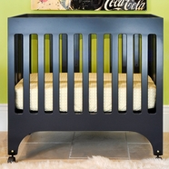 Babyletto Grayson Mini Crib in Navy