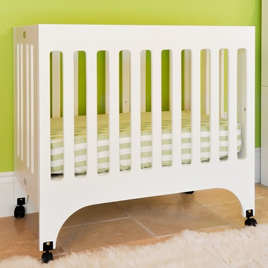 Babyletto Grayson Mini Crib in White - Click to enlarge