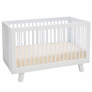 Babyletto Hudson 3-in-1 Convertible Crib  in White