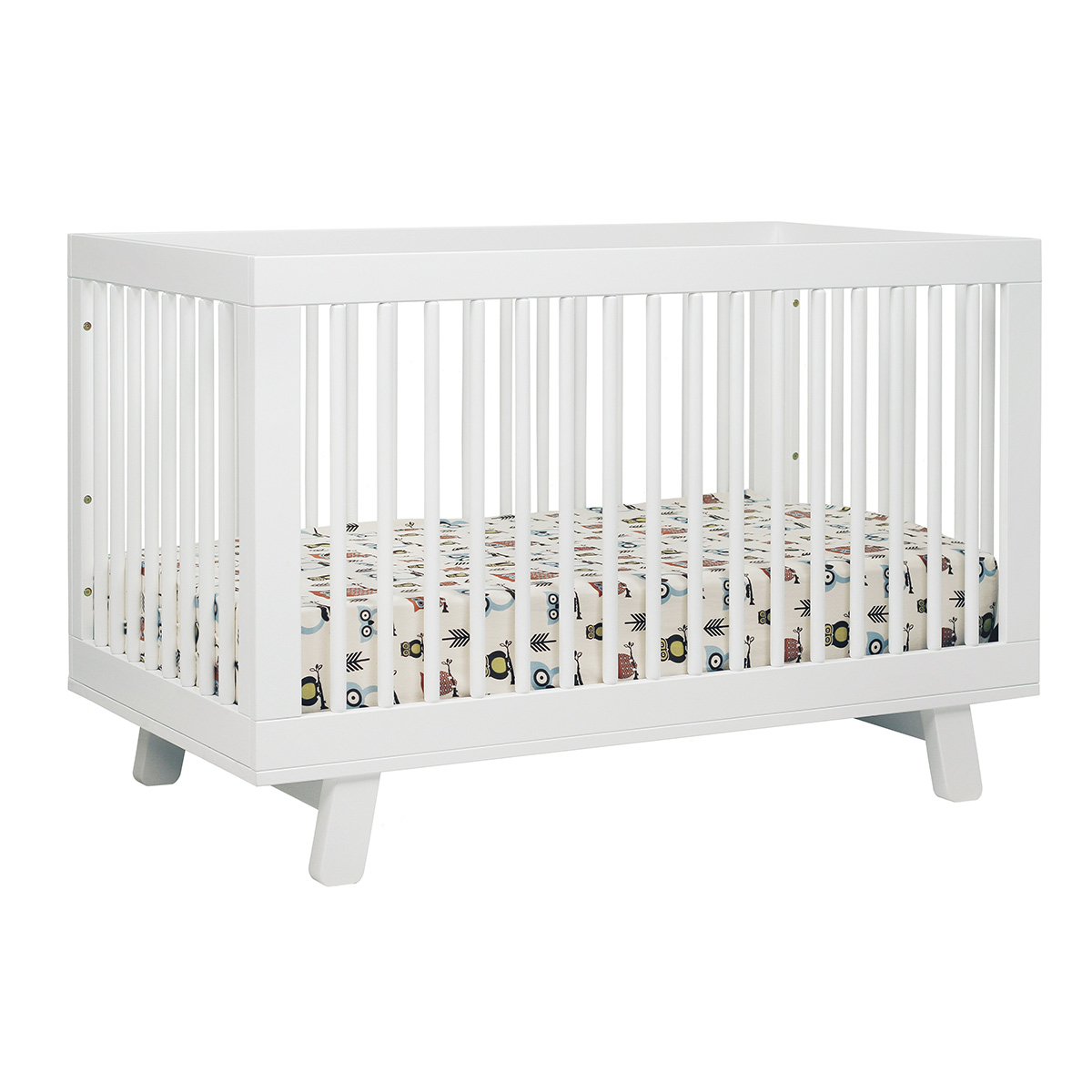 Babyletto hudson 3 in 1 convertible crib in white free shipping