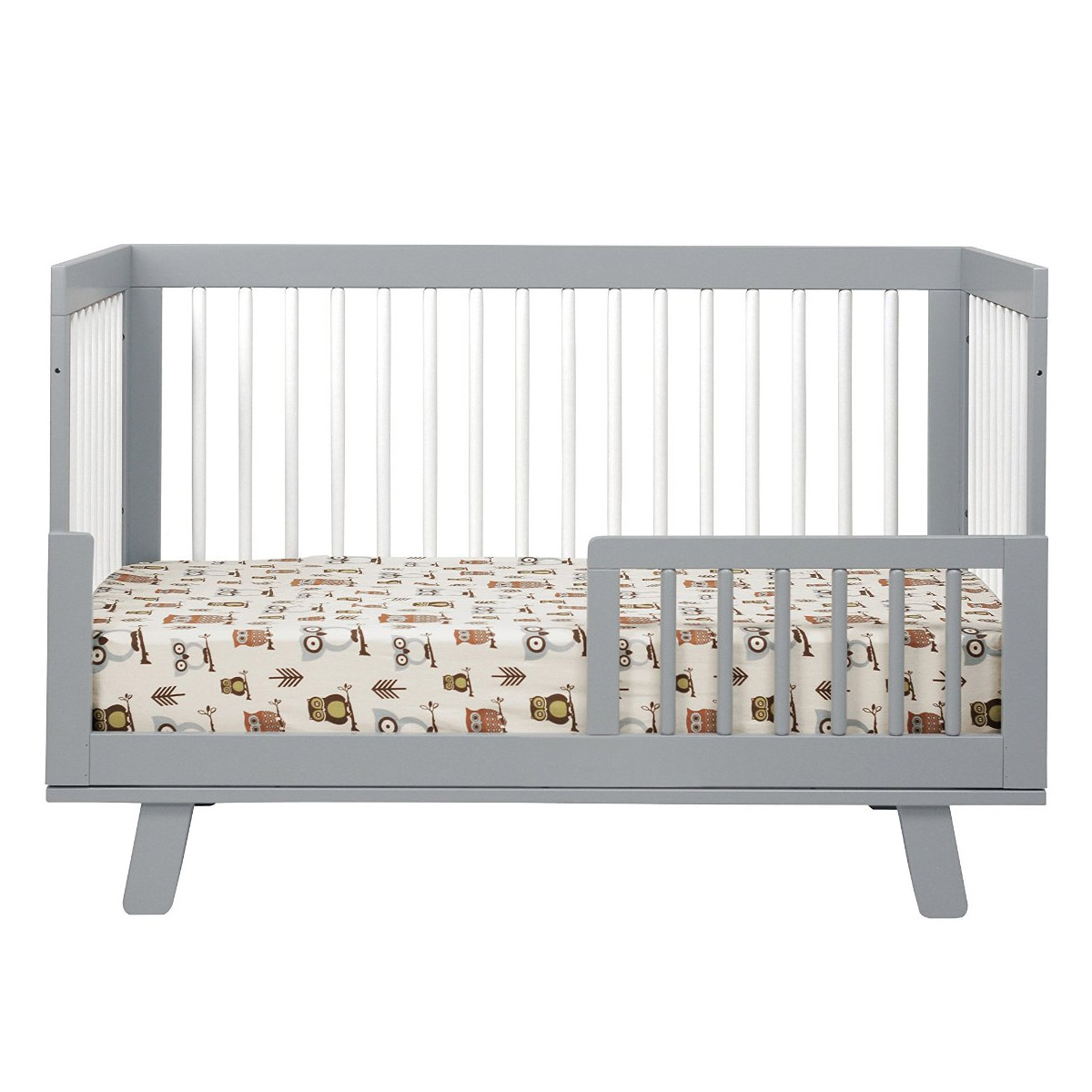 babyletto hudson in convertible crib with toddler bed  - babyletto hudson in convertible crib with toddler bed conversion ingreywhite free shipping
