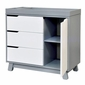 Babyletto Hudson Changer Dresser In Two Tone Grey And