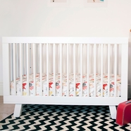 Babyletto Hudson Crib in White