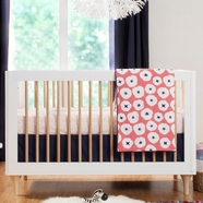 Babyletto In Bloom 6 Piece Crib Bedding Set
