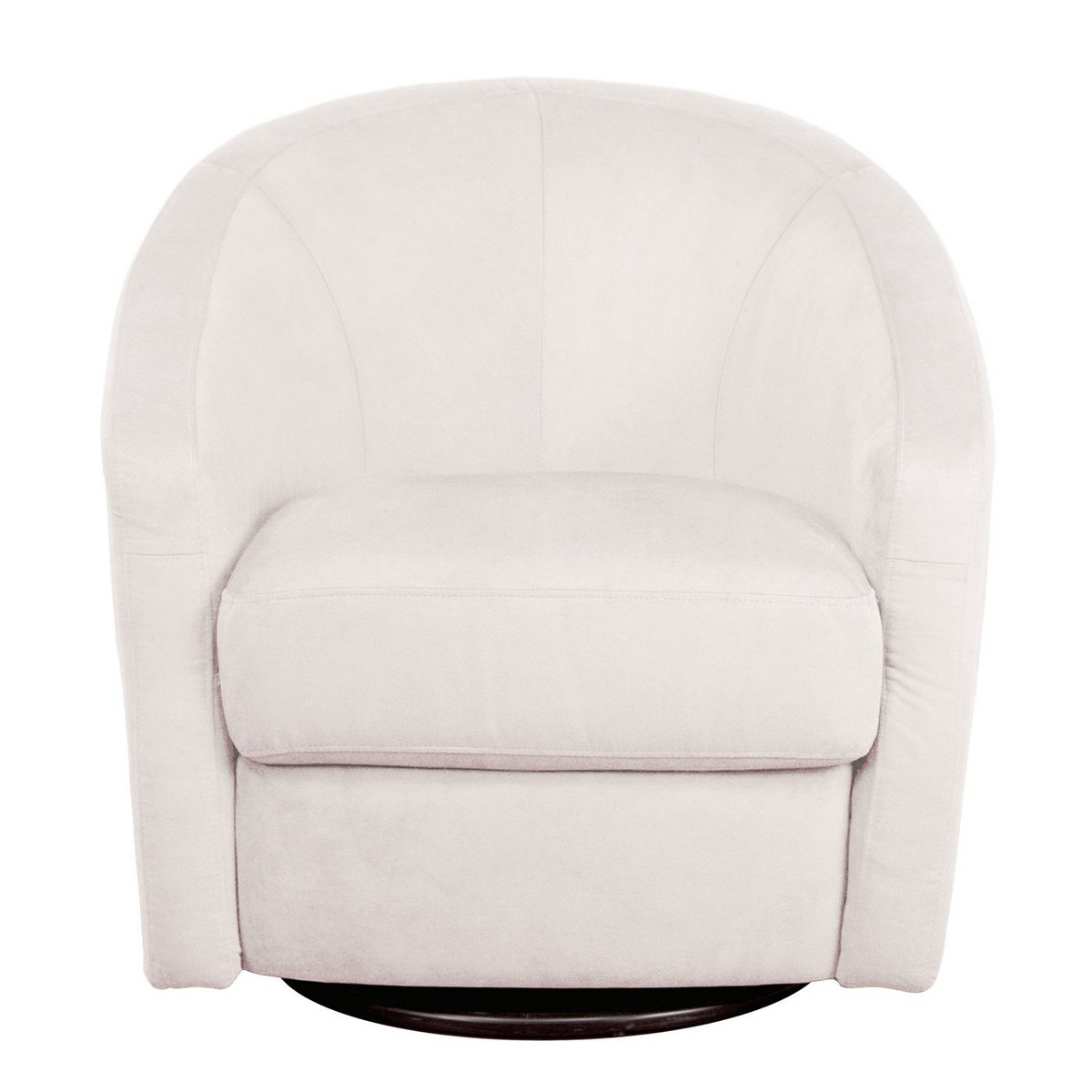 babyletto madison swivel glider in ecru free shipping   -
