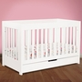Babyletto Mercer 3 in 1 Convertible Crib in White