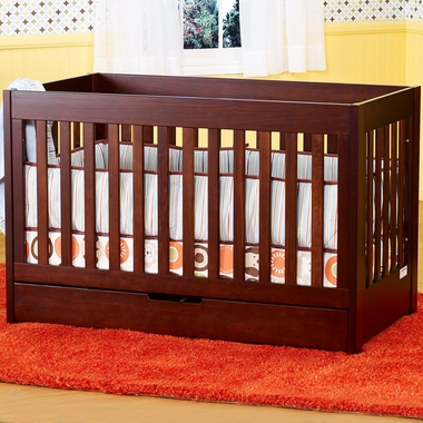 Babyletto Mercer 3-in-1 Crib in Espresso - Click to enlarge