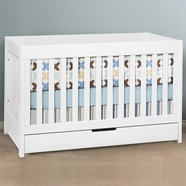 Babyletto Mercer Convertible Crib in White