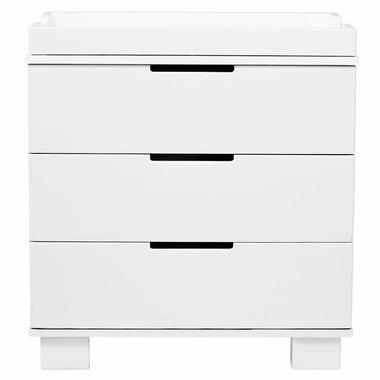 Babyletto Modo 3 Drawer Dresser in White - Click to enlarge