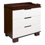 Babyletto Modo Two-Tone 3 Drawer Dresser/Changer