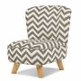 Babyletto Pop Mini Chair in Chevron Grey