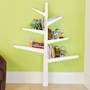 Babyletto Spruce Tree Bookcase in White